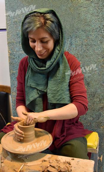 pottery edu - سفالگری ، آموزش سفالگری