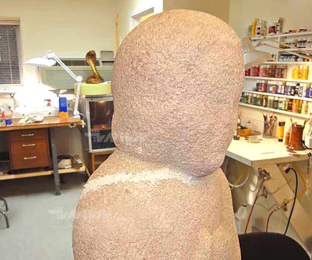 17 - بازسازی مجسمه سنگی