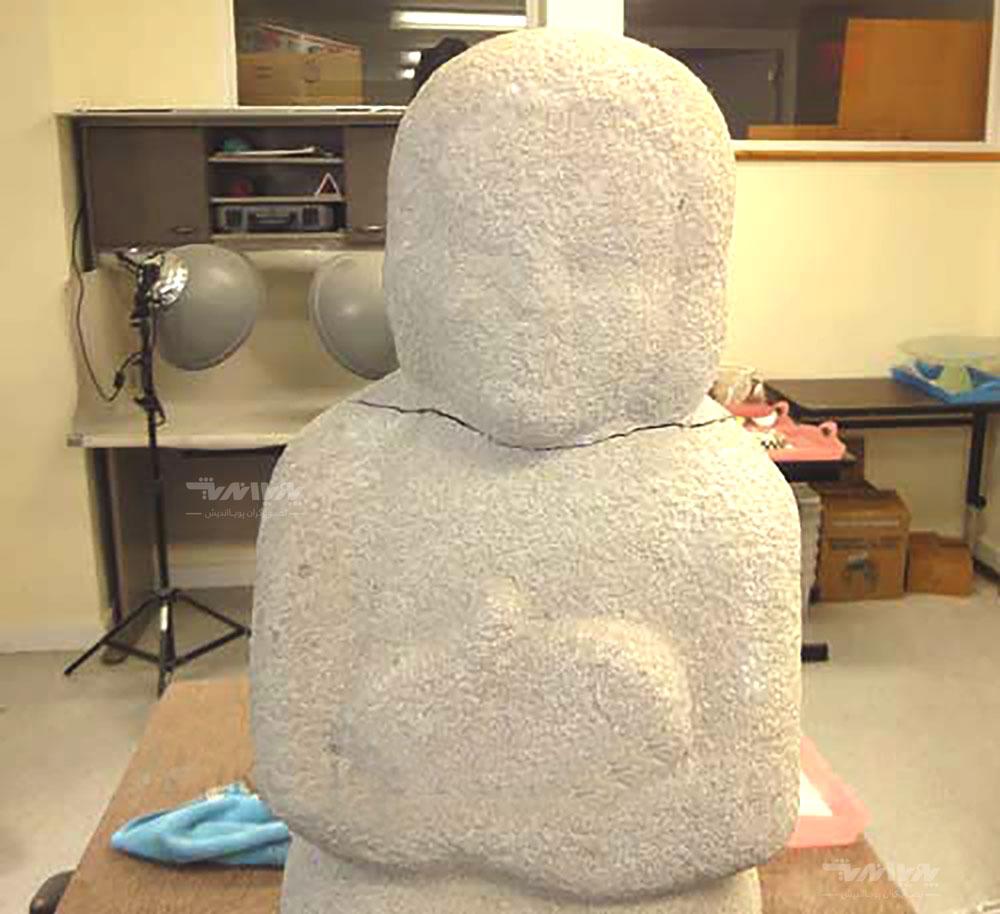 19 - بازسازی مجسمه سنگی