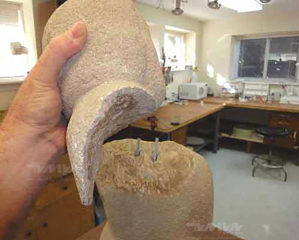 20 - بازسازی مجسمه سنگی