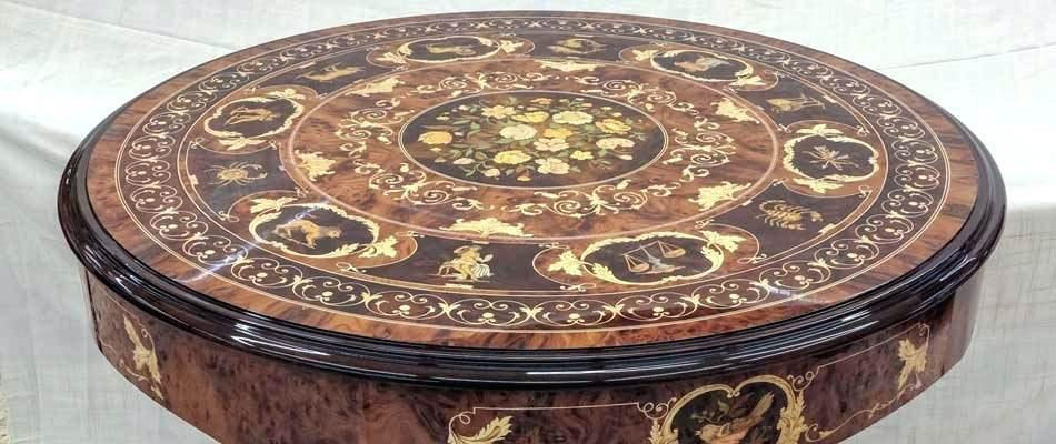 italian inlaid wood - معرق کاری چیست