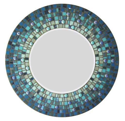 mosaic mirror - کاشی شکسته روی آینه