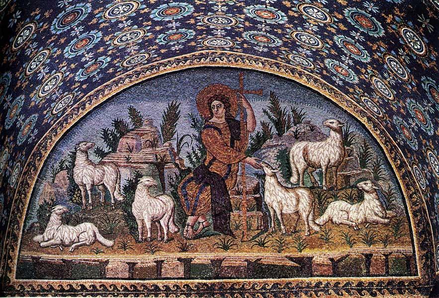 wall mosaic crist - آموزش کاشی شکسته