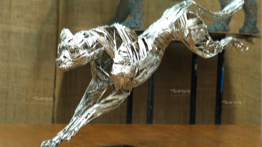 mojasamesazi ba felez 3 - مجسمه سازی با فلز