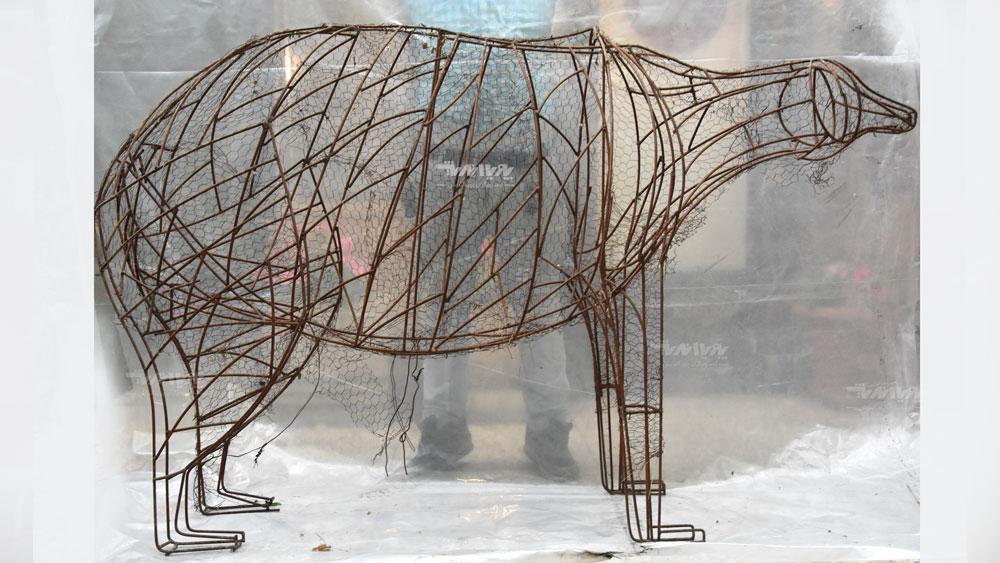 mojasamesazi ba felez 7 - مجسمه سازی با فلز