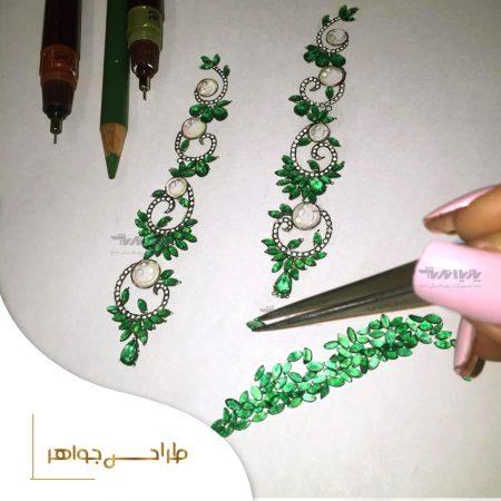w 2 450x450 - طراحی دستی جواهرات