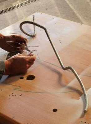 wired sculpture 1 - نحوهی ساخت مجسمههای سیمی