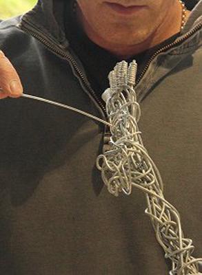 wired sculpture 10 - نحوهی ساخت مجسمههای سیمی