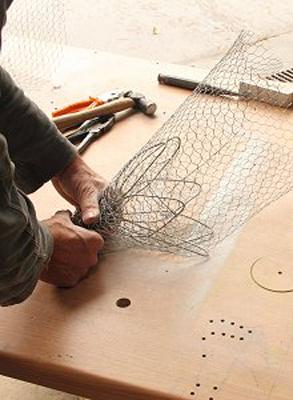 wired sculpture 15 - نحوهی ساخت مجسمههای سیمی