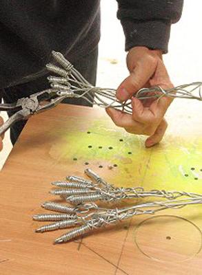 wired sculpture 8 - نحوهی ساخت مجسمههای سیمی