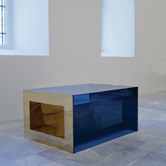 Donald Judd - مجسمه انتزاعی