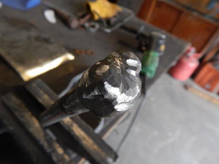 Dragonfly 5 - مراحل ساخت مجسمه فلزی سنجاقک