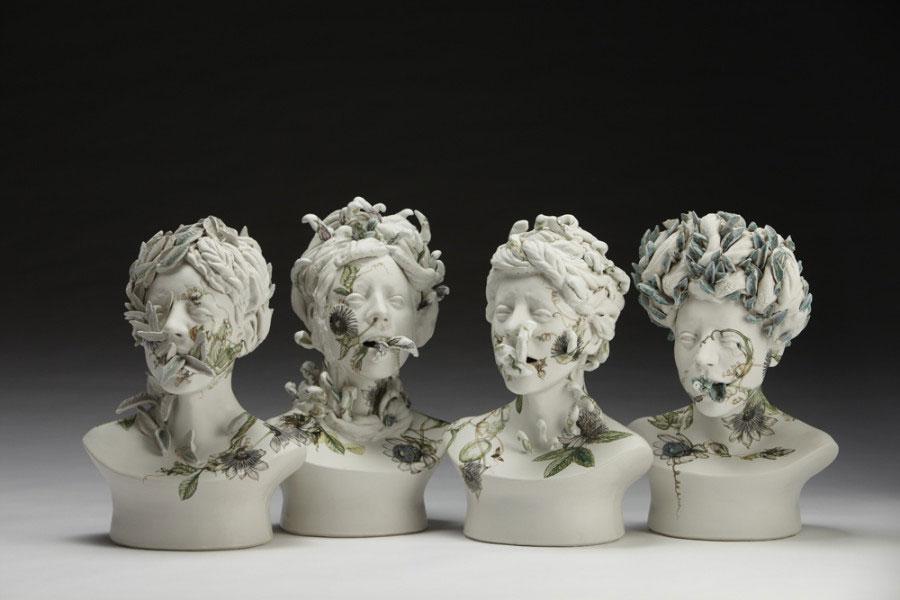 ceramic - مجسمه های سرامیکی