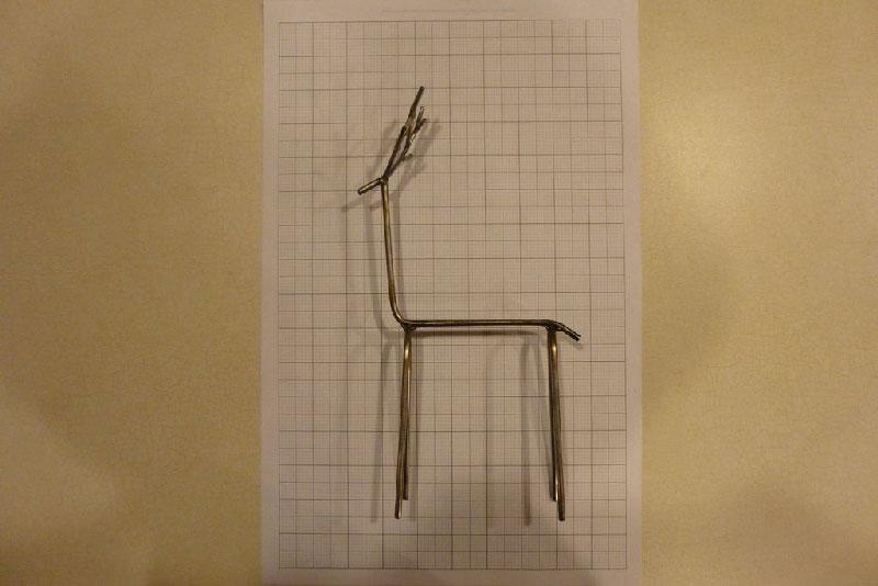 deer 4 - روش های ساخت مجسمه فلزی گوزن