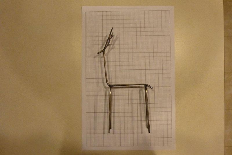 deer 7 - روش های ساخت مجسمه فلزی گوزن