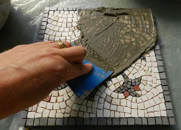 grout mosaic - آشنایی با مقدمات هنر معرق کاشي