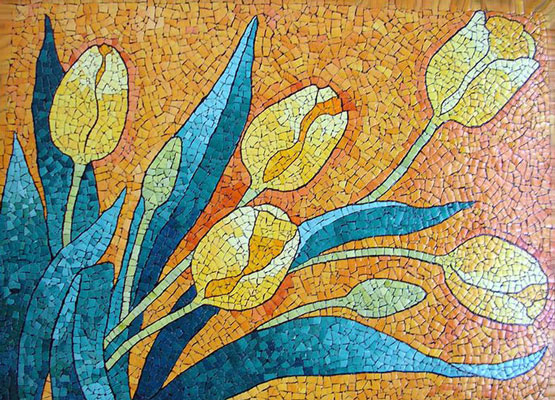 kashi moaragh - آشنایی با مقدمات هنر معرق کاشي