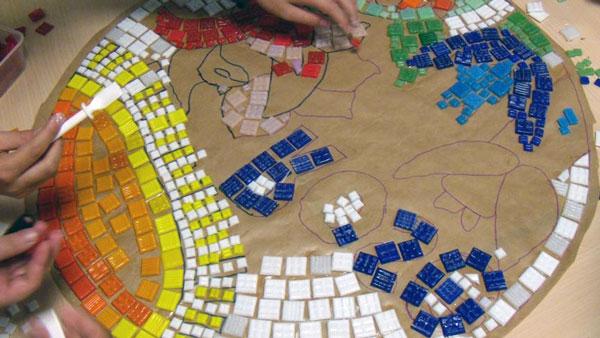 mosaic - آشنایی با مقدمات هنر معرق کاشي
