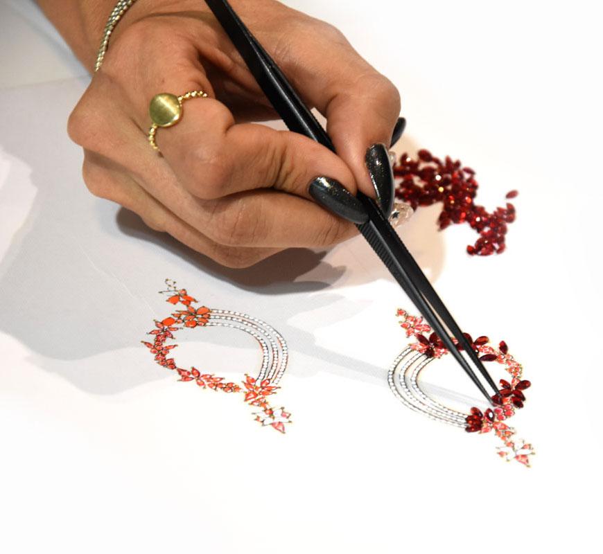 tarahi javaher222 - طراحی دستی جواهرات