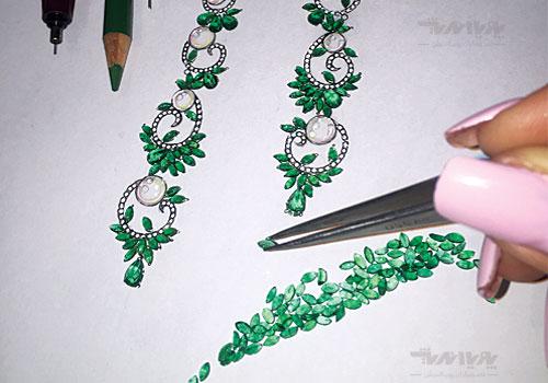tarahijavaher111 - طراحی دستی جواهرات