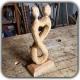 فیلم آموزش مجسمه سازی با چوب