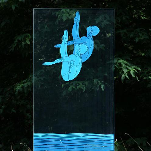 creative sculpture - مجسمه های شیشه ای – شیشه سازی و آثار شیشه ای
