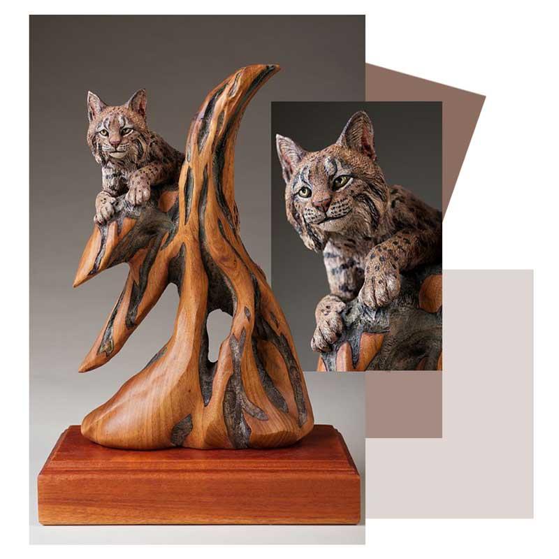 mojasamesazi ba choob 5 - مجسمه سازی با چوب