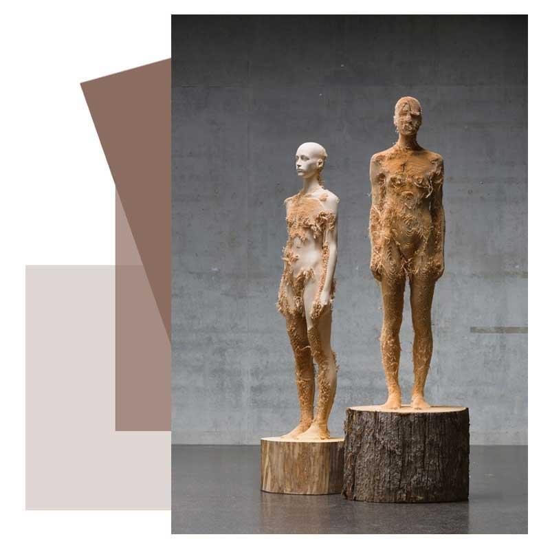 کلاس مجسمه سازی با چوب