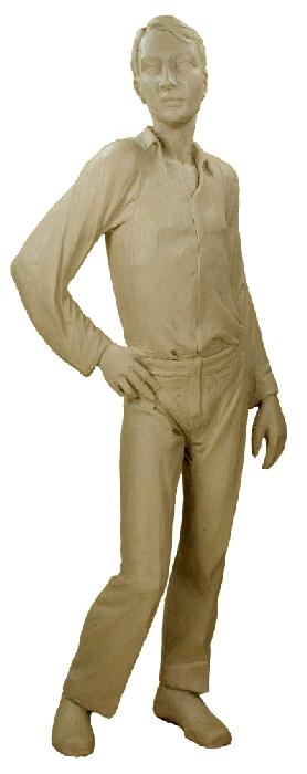 sculpt clothes 1 - ساخت چین و چروک لباس در مجسمه سازی