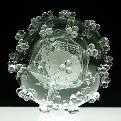 wired - مجسمه های شیشه ای – شیشه سازی و آثار شیشه ای