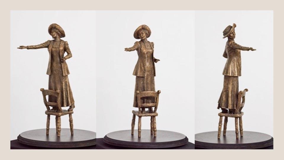 bronze sculpture - ساخت آرماتور برای مجسمه