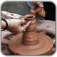clay pottery 80x80 - مجسمه سازی فیگوراتیو