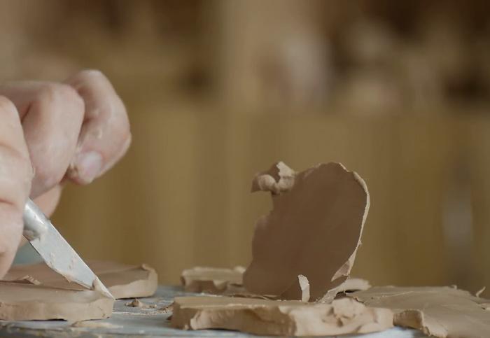making a clay - گل سفالگری و انواع آن