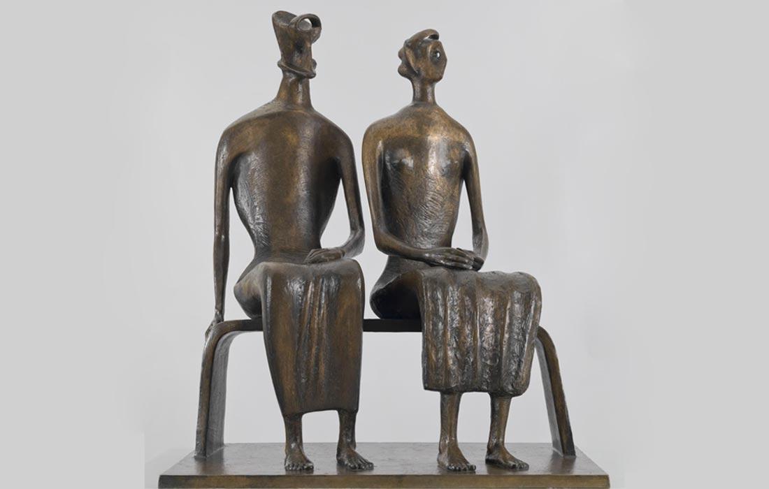 men women - ساخت آرماتور برای مجسمه