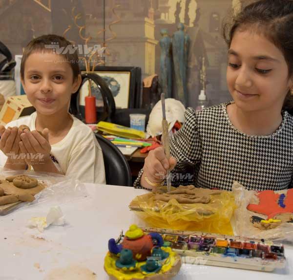 mojasame koodak 3 - مجسمه سازی برای کودکان
