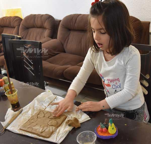 mojasame koodak 5 - مجسمه سازی برای کودکان