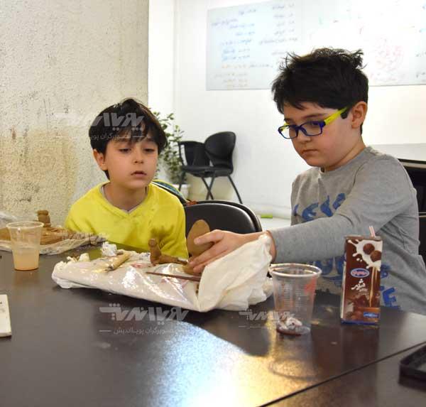 mojasame koodak 6 - مجسمه سازی برای کودکان
