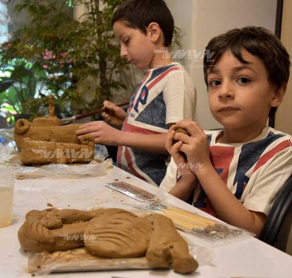 mojasame koodak 8 - مجسمه سازی برای کودکان