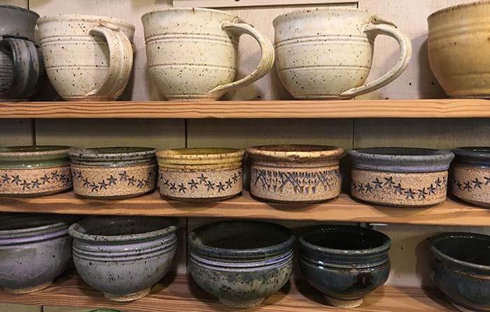 mugs bowls - گل سفالگری و انواع آن