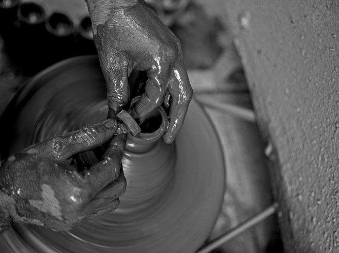 pottery art - گل سفالگری و انواع آن