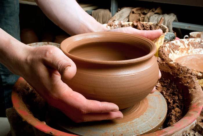 pottery clay - گل سفالگری و انواع آن