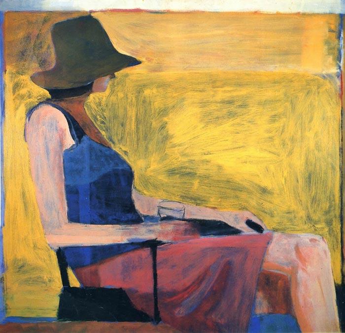 Richard Diebenkorn - مقایسه هنر انتزاعی و فیگوراتیو