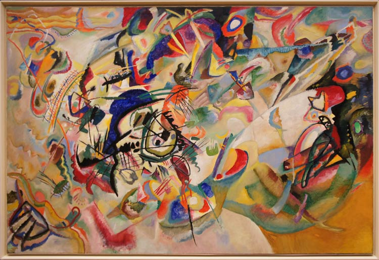 abstract art 1 - مقایسه هنر انتزاعی و فیگوراتیو