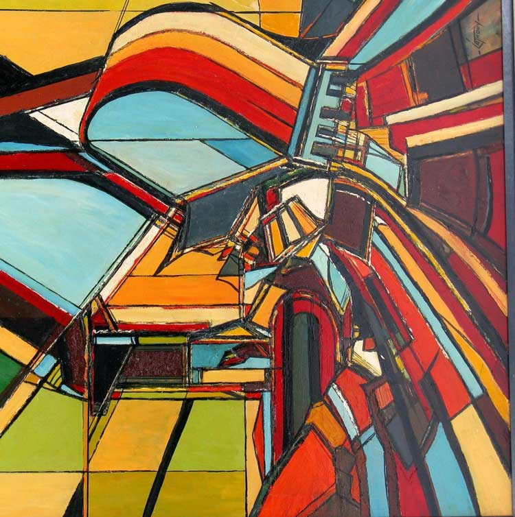 abstract art - مقایسه هنر انتزاعی و فیگوراتیو