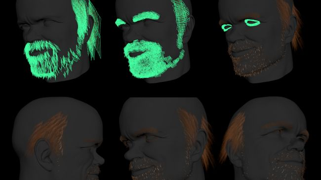 beard - چگونگی طراحی مدل های سه بُعدی در ZBrush و Maya