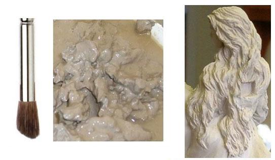 cly sculpture 4 - مقدمه ای برتکنیک مجسمه سازی سفالی