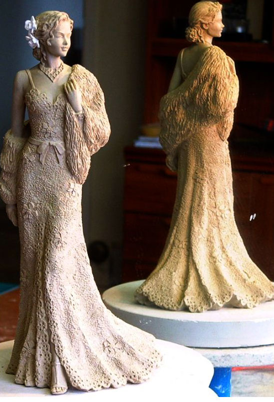 cly sculpture 6 - مقدمه ای برتکنیک مجسمه سازی سفالی