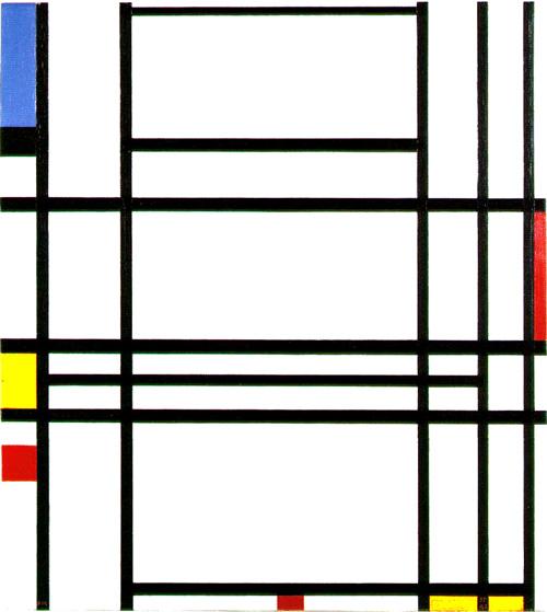 composition no 10 - مقایسه هنر انتزاعی و فیگوراتیو