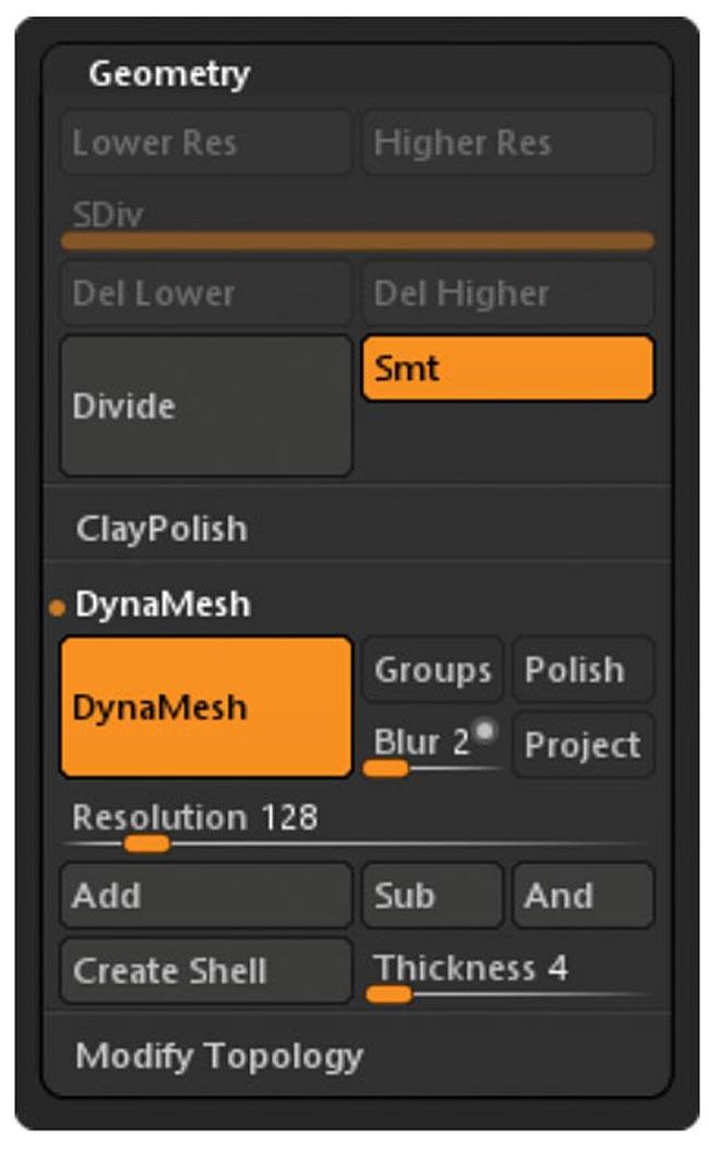 enable dynamesh 11 - چگونه بصورت دیجیتالی در ZBrushCore مجسمه سازی کنیم ؟