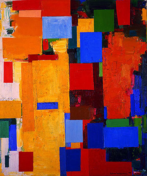 equinox 1958 - مقایسه هنر انتزاعی و فیگوراتیو
